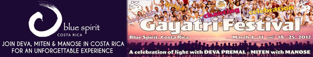 Gayatri Festival Costa Rica - Blue Spirit